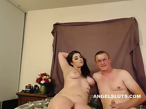 Lustful Chubby Strumpet Is Being Very Naughty Alone
