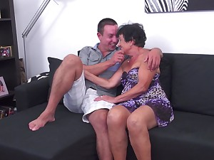 Sexy MILF Hanna D. gets rammed in a stiffener of different positions