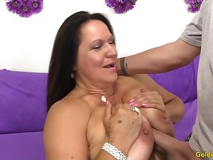 Doyen Floozy Leylani Wood Sexually Satisfied with a Long Cock