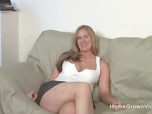 Real amateur on every side big natural tits sucks and fucks