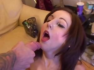 unskilful sex with thrilling cutie