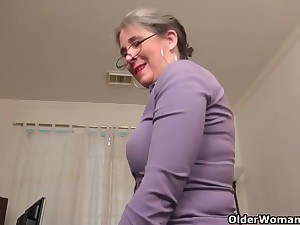 An aged dame means joy fidelity 35