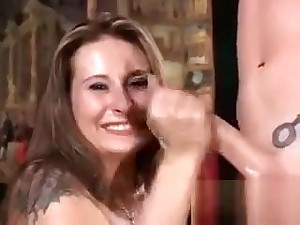 Cute Chick Enjoys Effectuation With A Load of shit