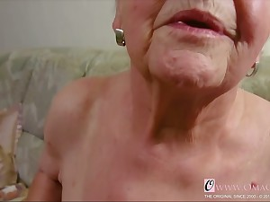 OmaGeiL Utter Granny Juicy Pussy Closeup Video