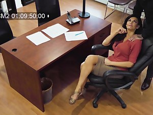 Down in the mouth MILF secretly films herself having sexual intercourse with will not hear of married associate