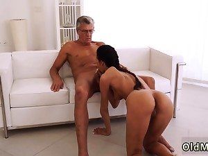 Teen gets promised and fucked by step daddy first time