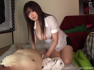 Homemade video be proper of passionate fucking with domineer Kisaki Mikoto